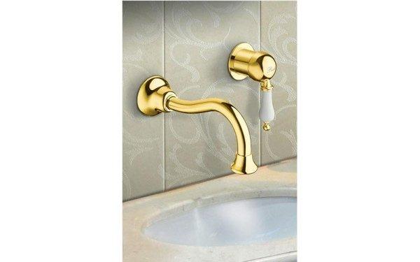 rubinetto dorato