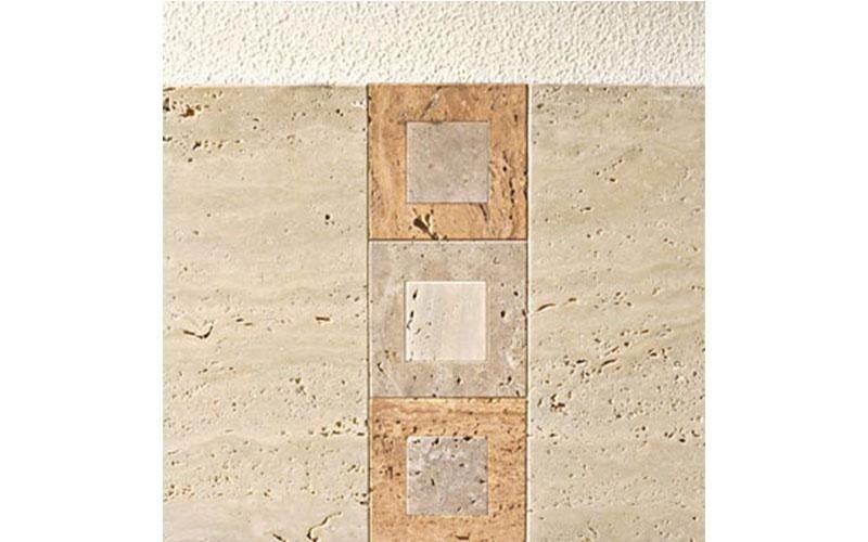 caminetto moderno pietra intarsio