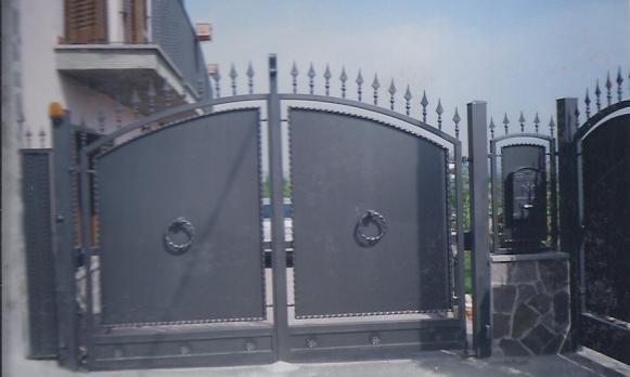 cancello in ferro su misura