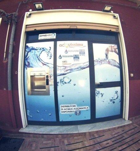 distributore dell'acqua Leonforte