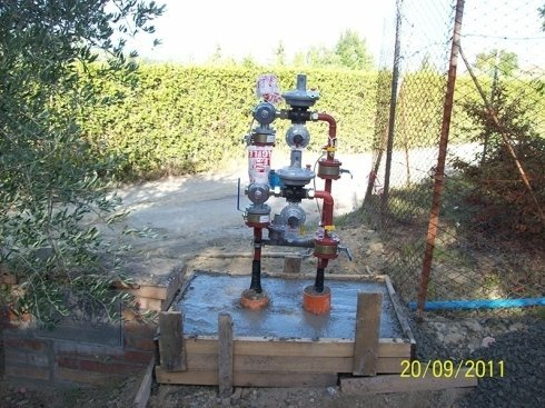 impianto acquedotto