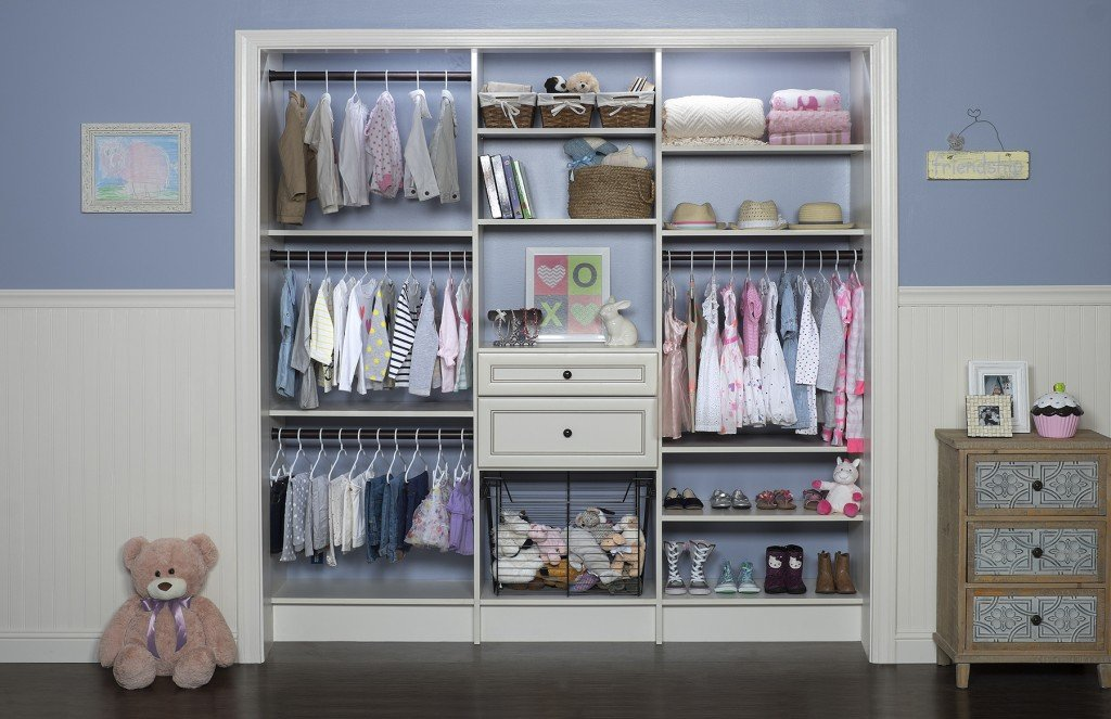 Superbe Custom Kids Closet System