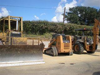 dirt hauling Houston, TX