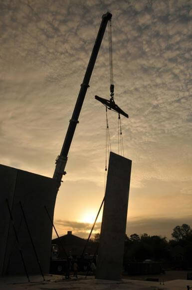 Large Commercial Projects Concrete Construction Work For