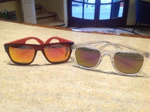 mantature occhiali