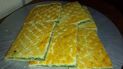 crescente ripiene di spinaci