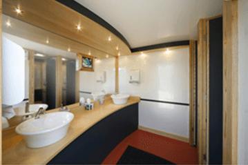 Contemporary mobile toilet hire in Bristol