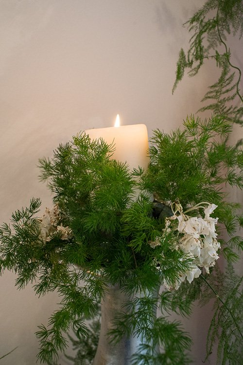 candela atmosfera rilassante a Merine