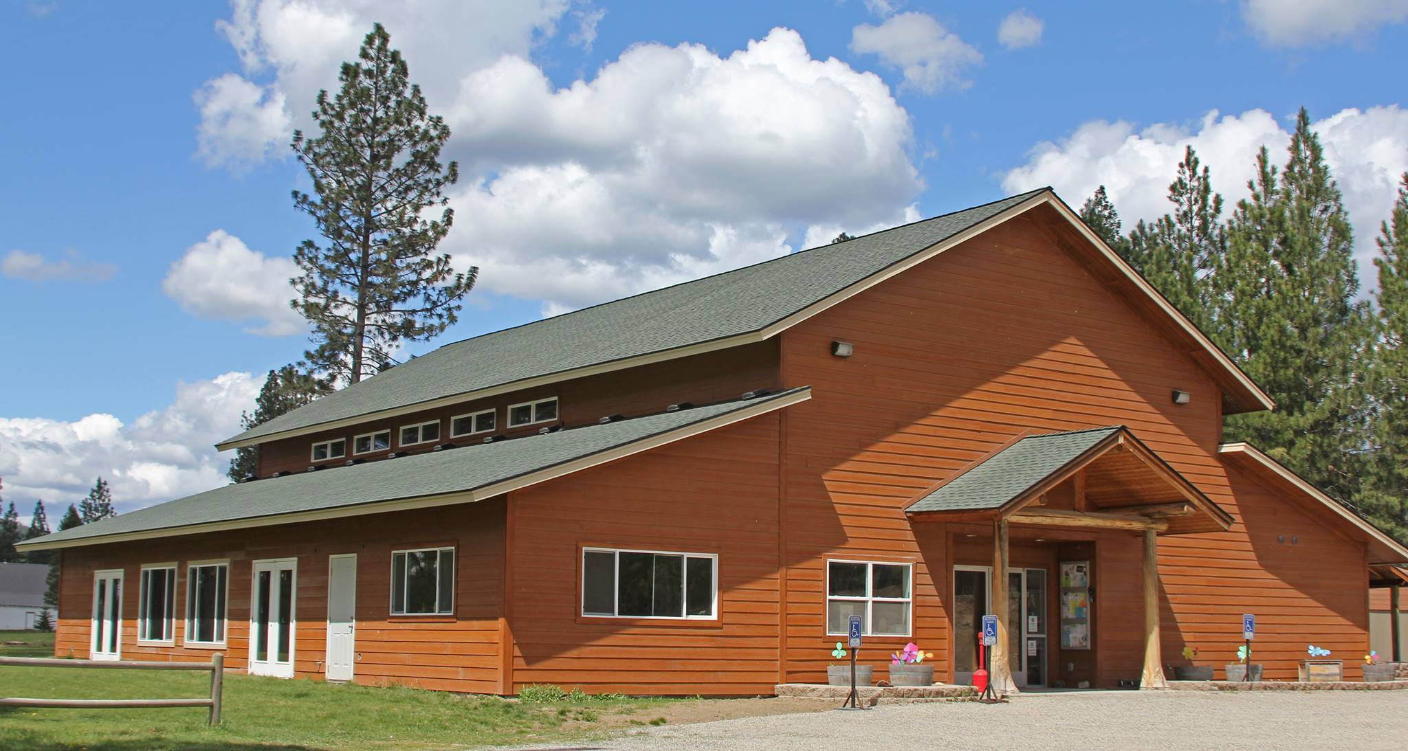 Blanchard Community Center in Idaho