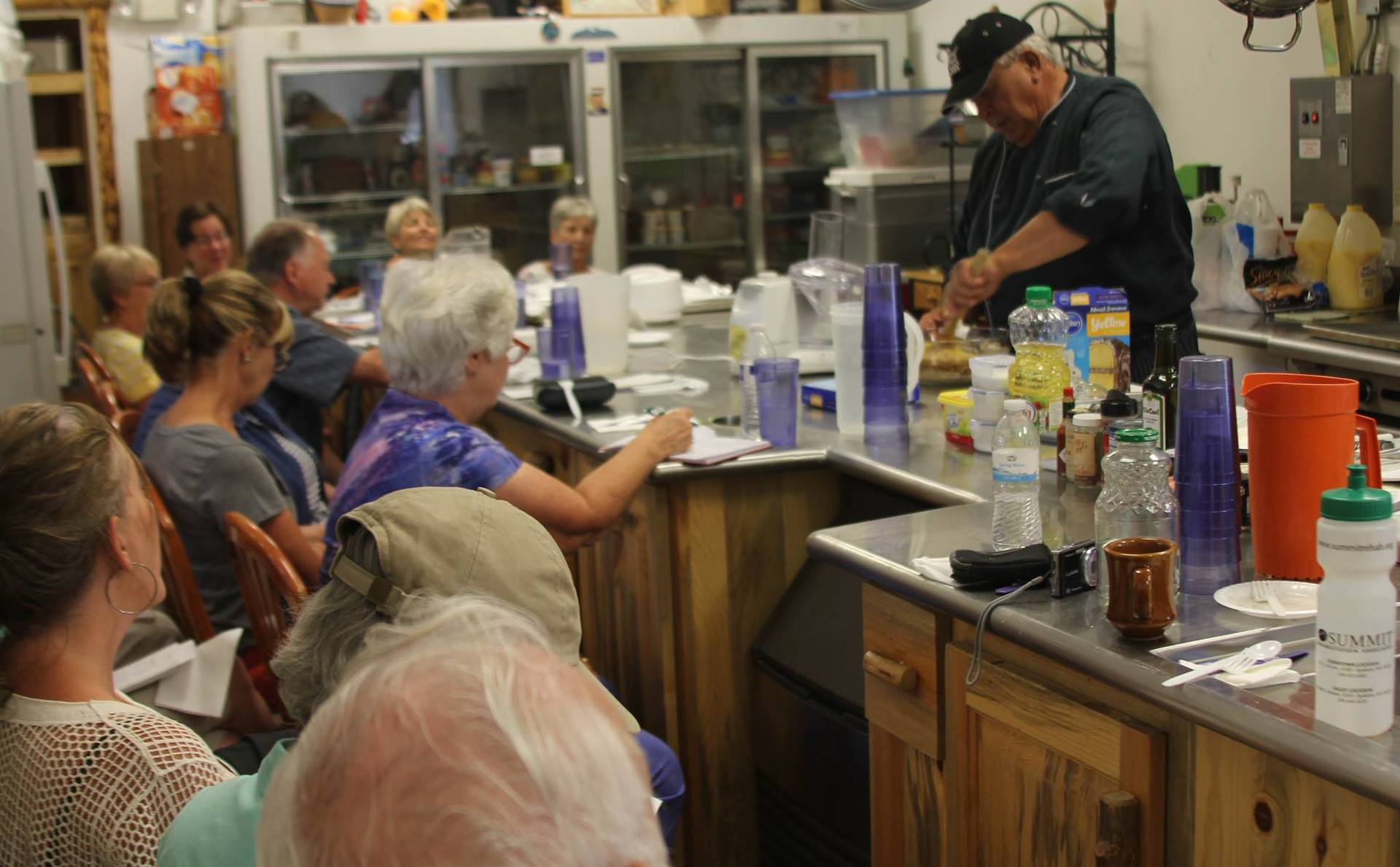 Culinary Classes with Chef Steve Geving