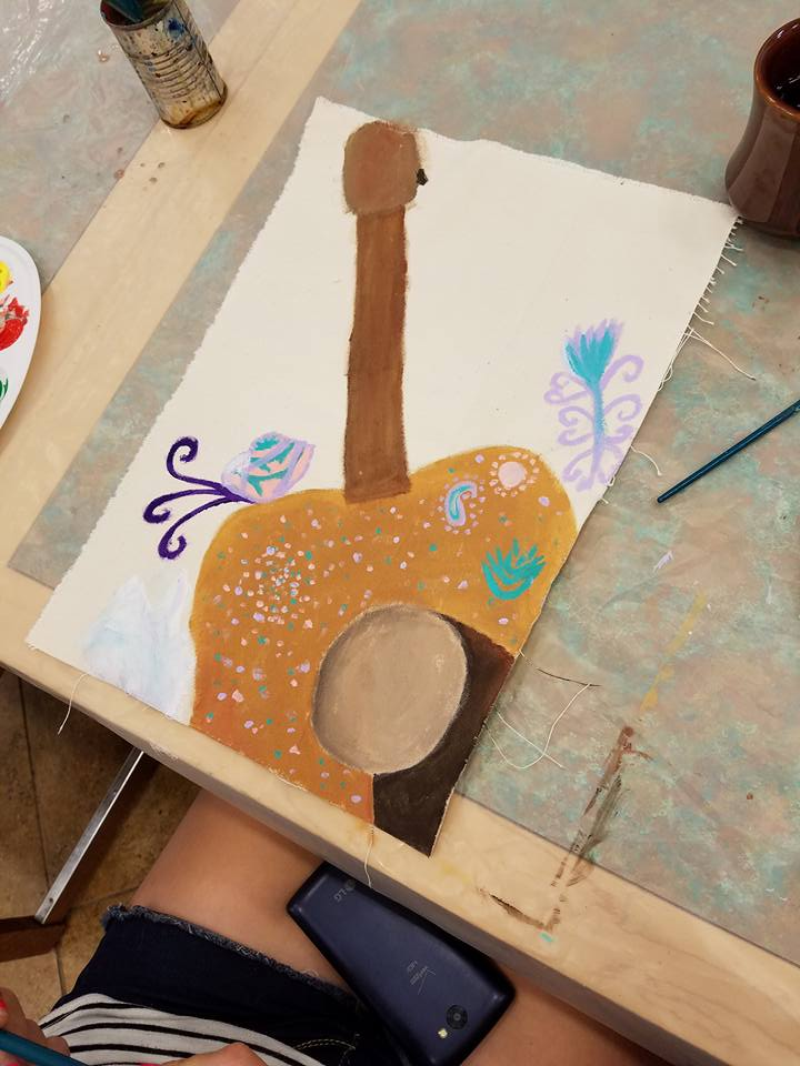 Children's Art Camp the Blanchard Community Center
