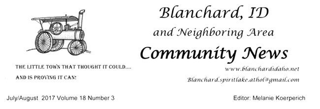 Blanchard Community Newsletter