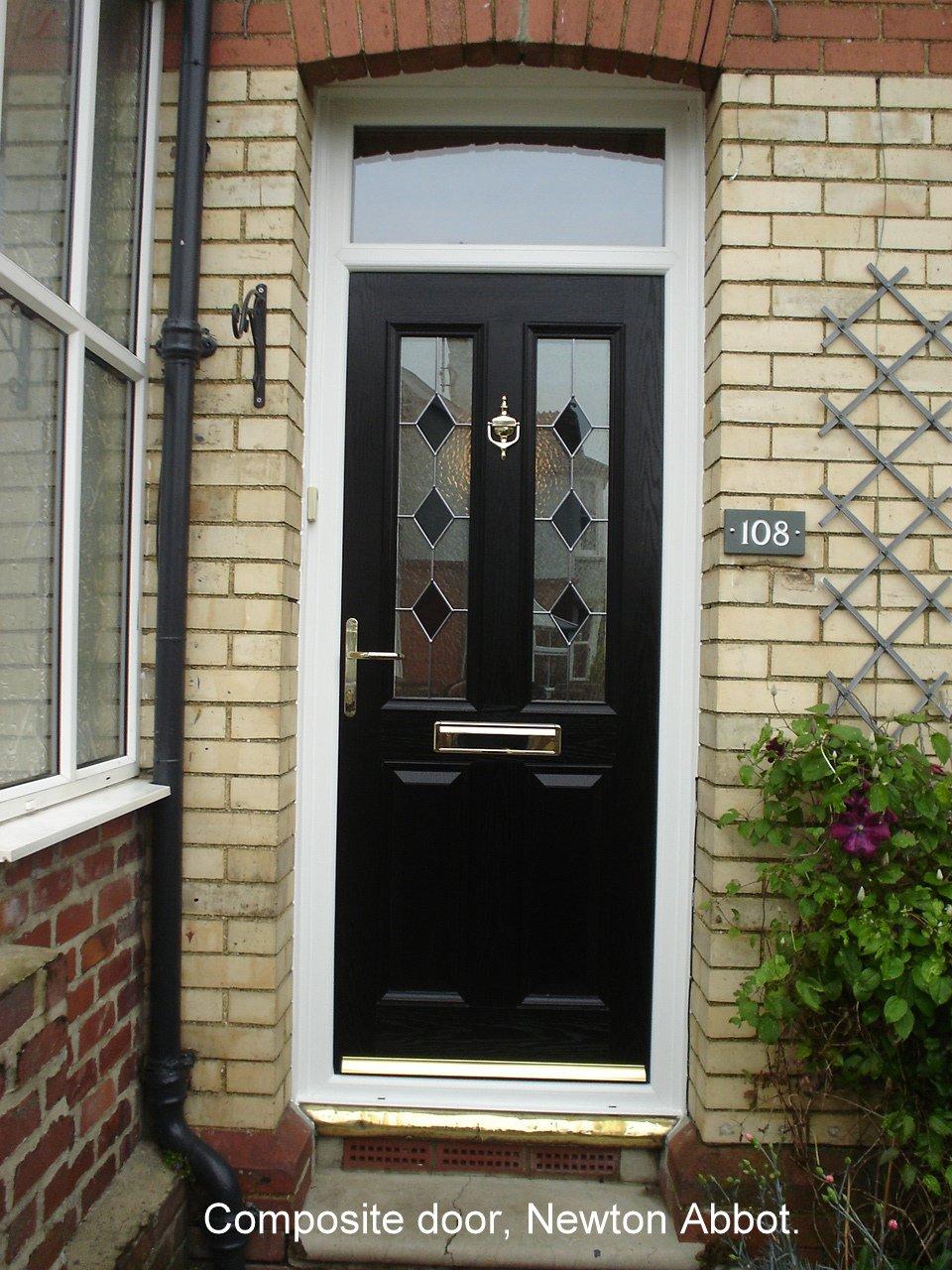 brown coloured door
