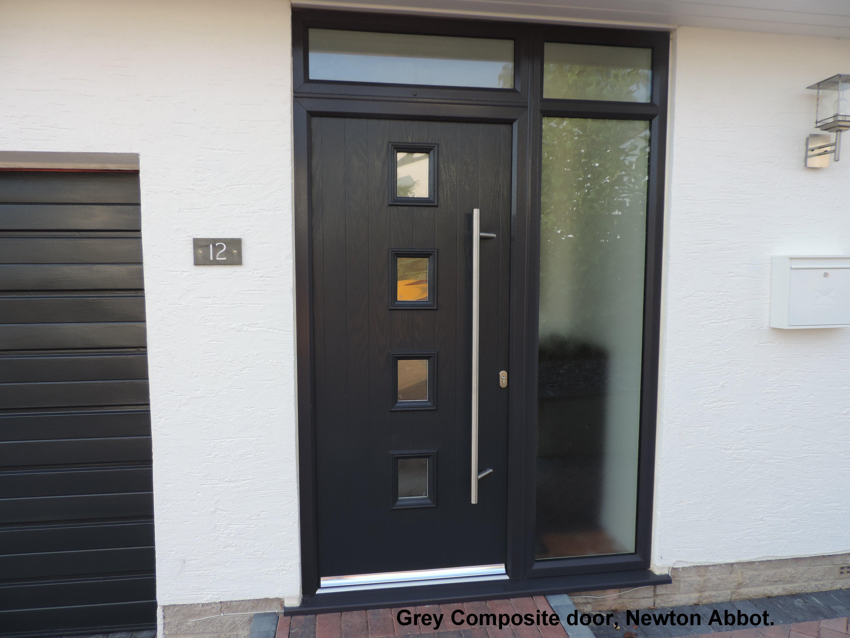 black coloured door