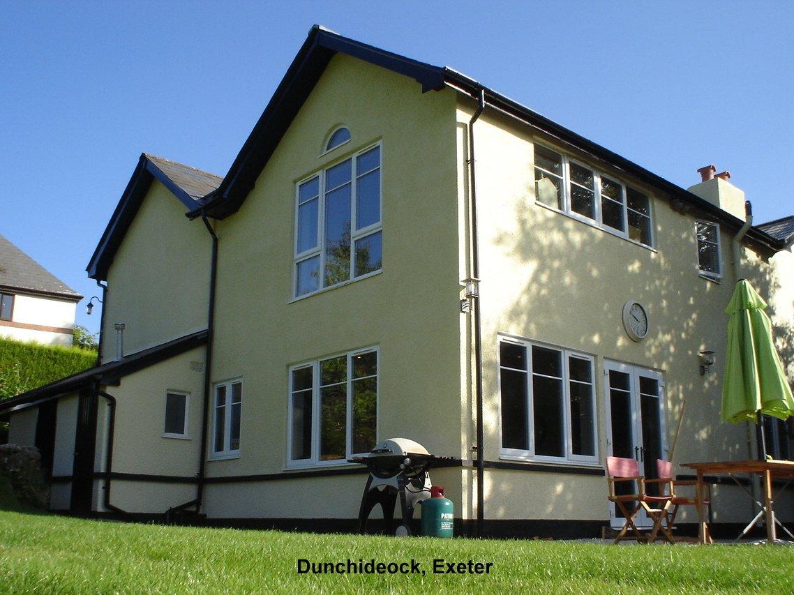 white coloured house