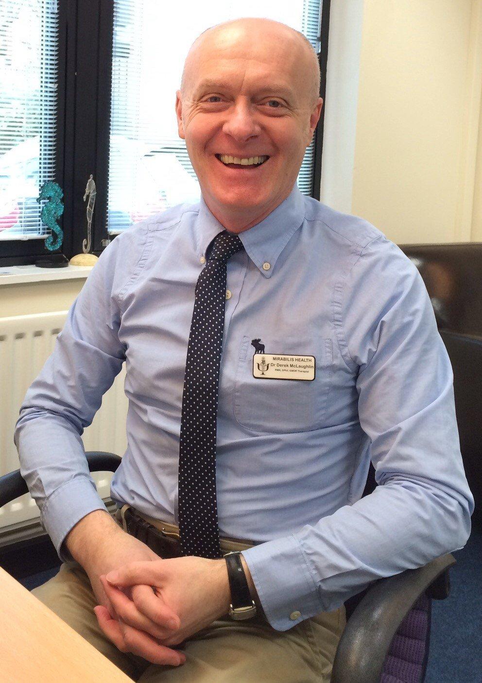 Dr Derek McLaughlin