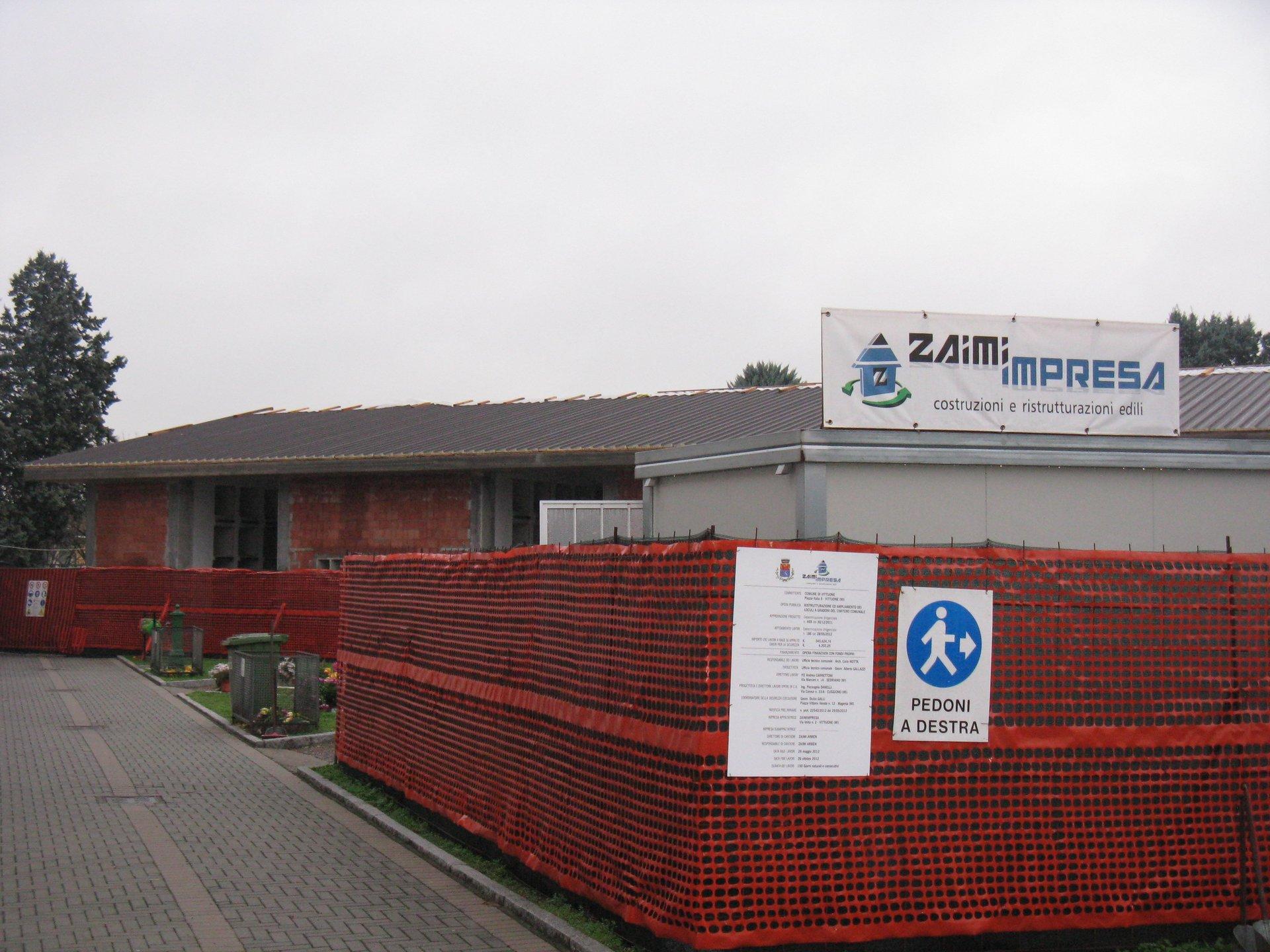 vista esterna di ditta ZAIMIMPRESA SRL
