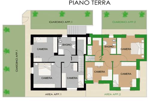 progetto- PIANO TERRA GIARDINO
