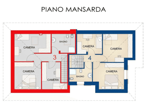 progetto- PIANO MANSARDA