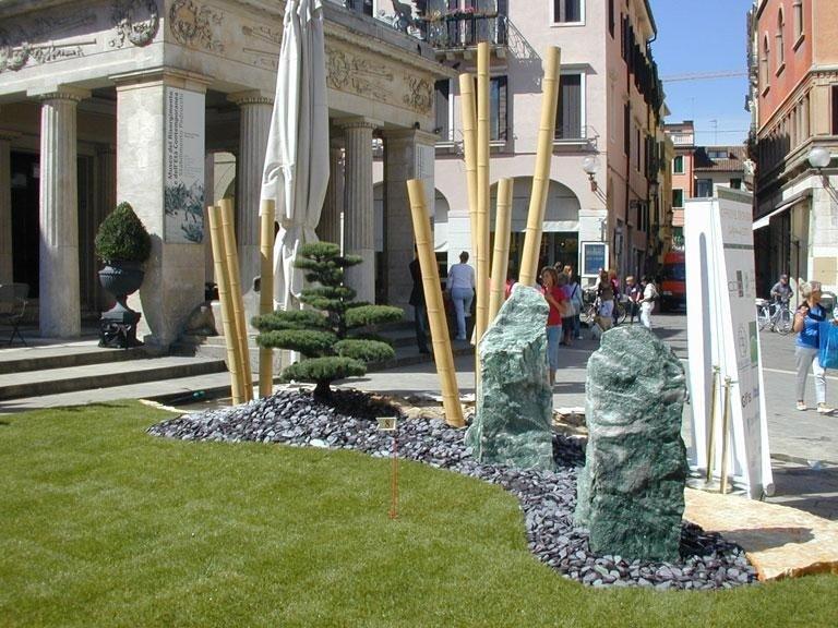 Installazioni area verde Pedrocchi