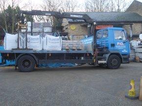 Building materials van