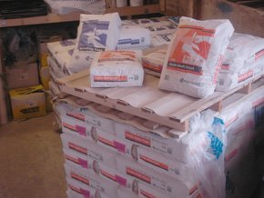 Plaster supplies
