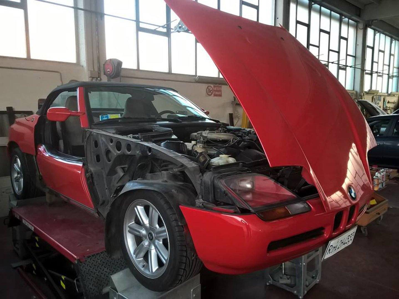 riparazione auto all'autofficina
