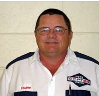 A member of our pest inspection services team in Enterprise, AL