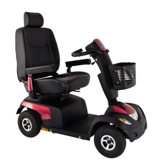 scooter elettrico con cestino