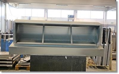 Produzione attrezzature metallo