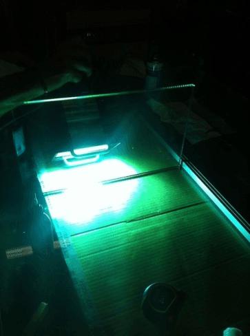 laboratorio produzione vetro