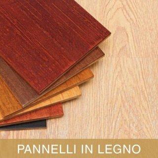 Pannelli in legno e affini