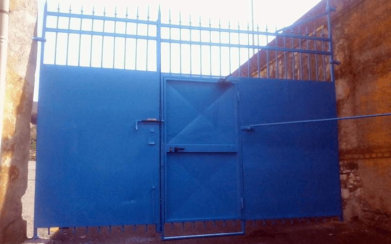 cancello con porta