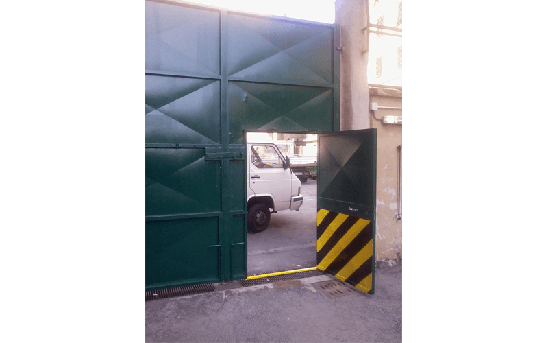 cancello oscurante