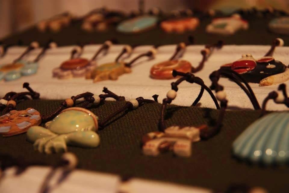 gioielli in ceramica