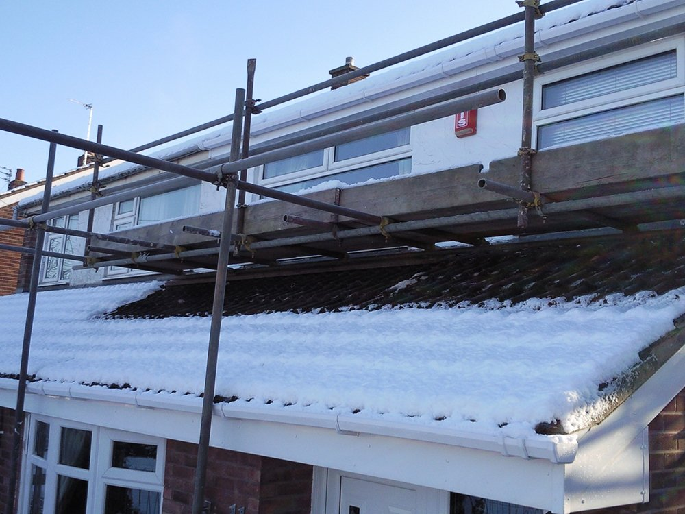 scaffolding for home repairs