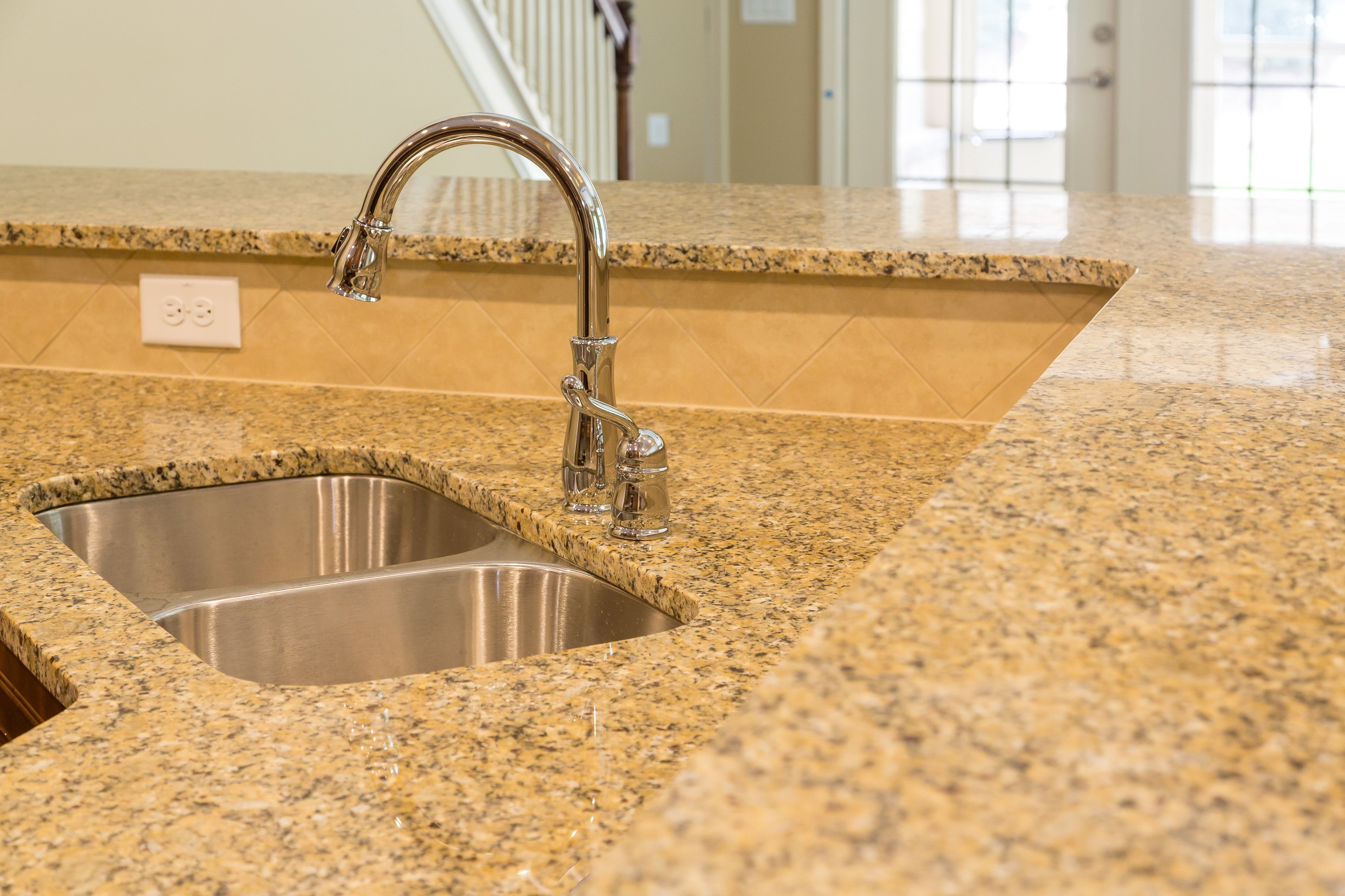 Countertops in a home located in Cedar Rapids, IA