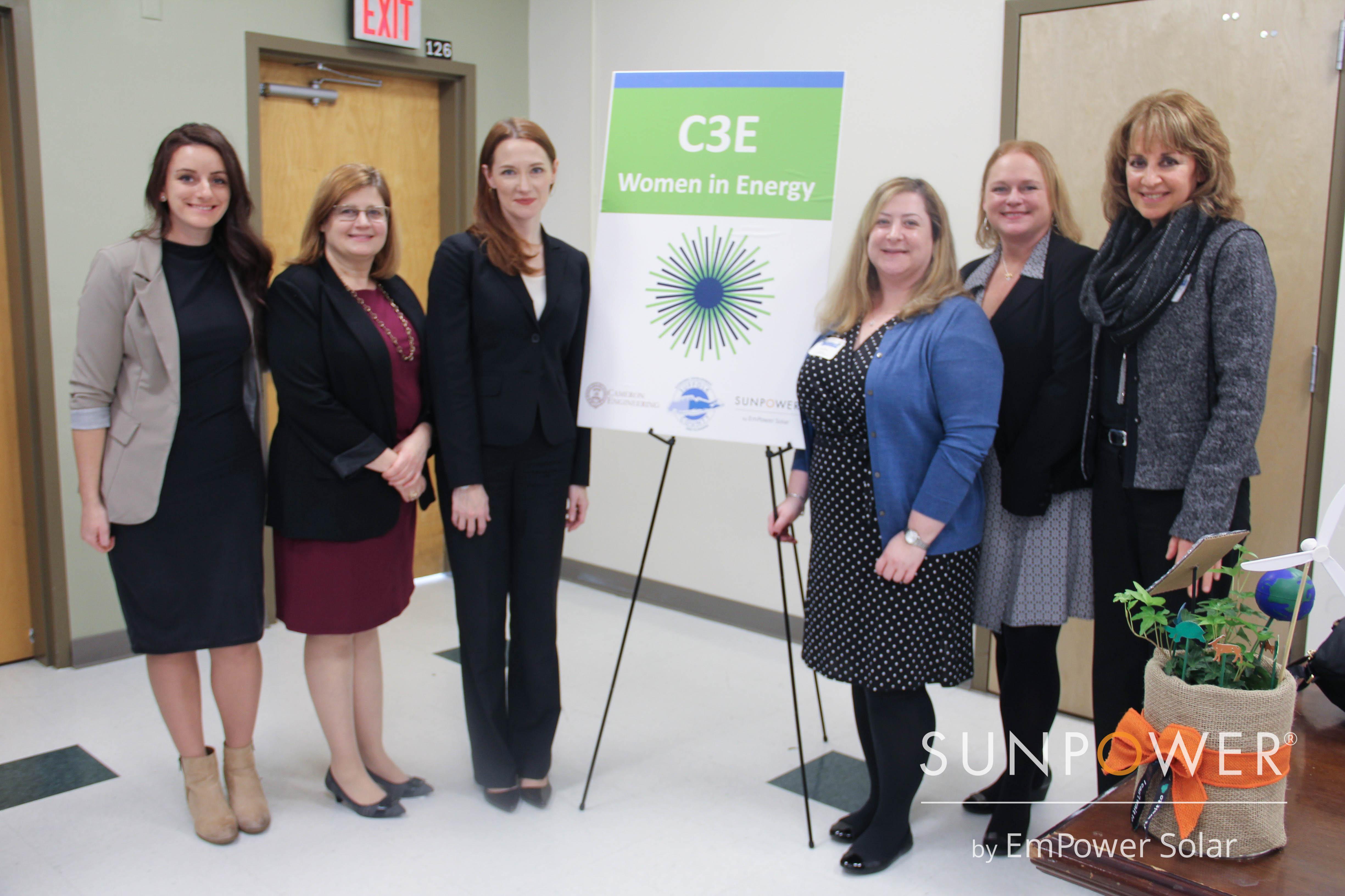 C3E Women in Energy Long Island Meetup SunPower by EmPower Solar