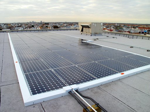 Commercial solar panels for Long Beach Catholic Regional School in NY