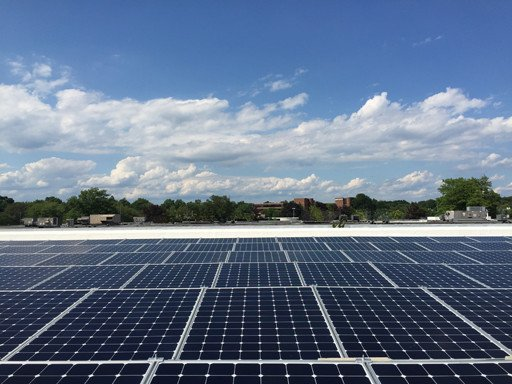Commercial solar panels for Vanderbilt Financial in NY