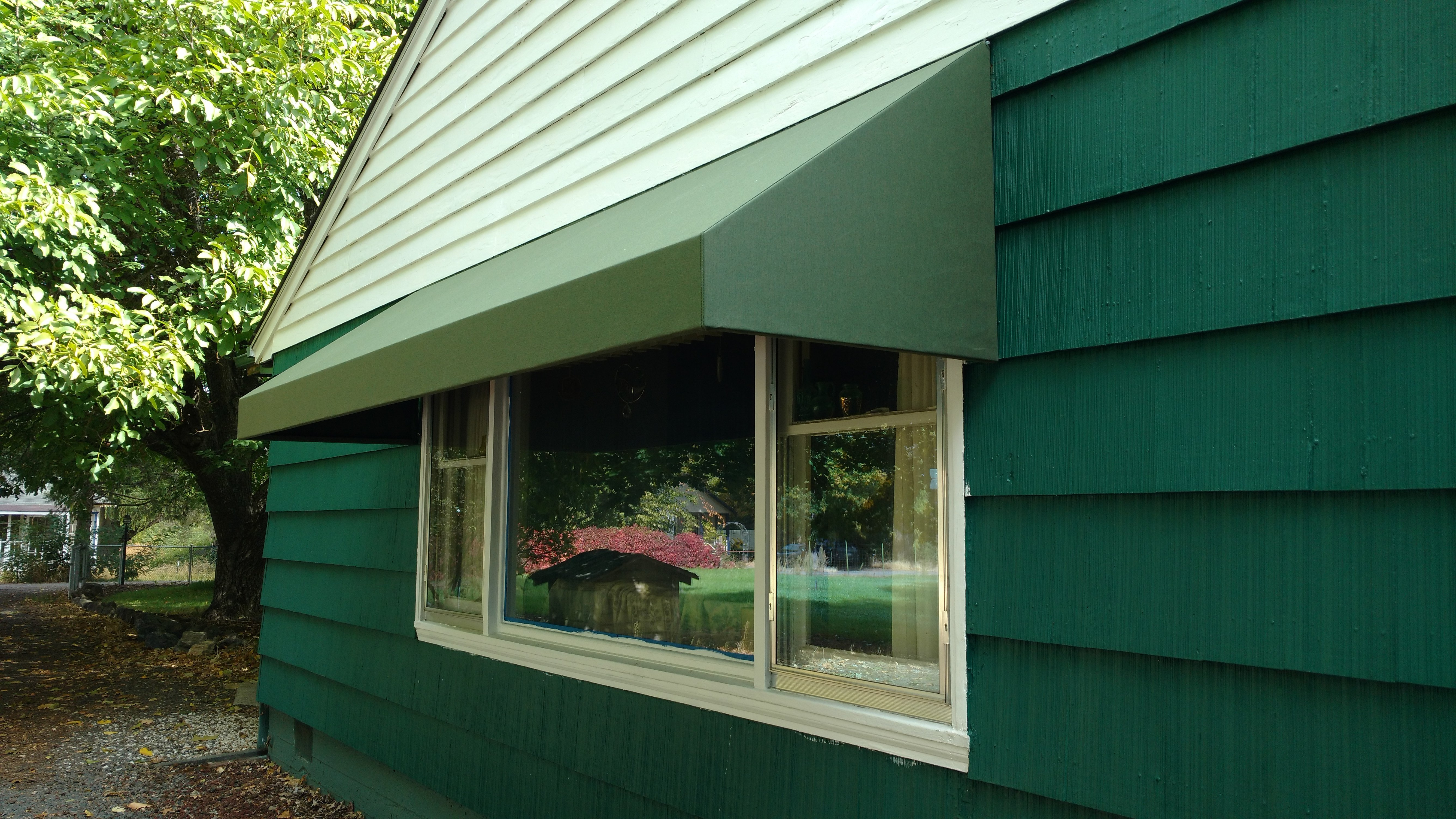 may house for awning create