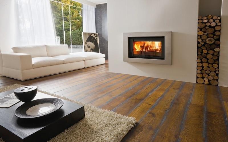 pavimenti in legno grezzo
