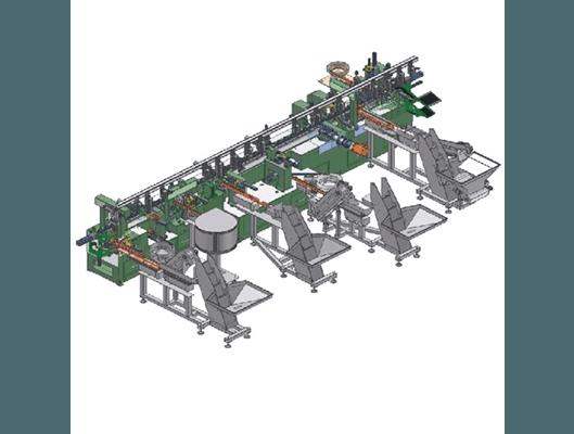 Schema isola automatica montaggio