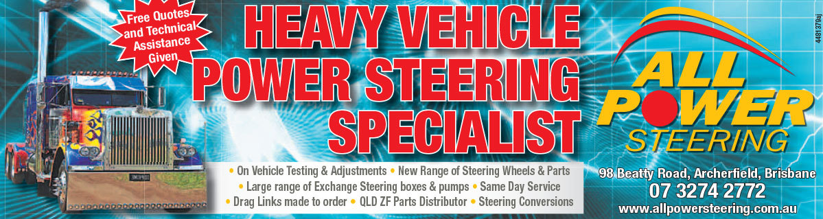 All Power Steering Ad