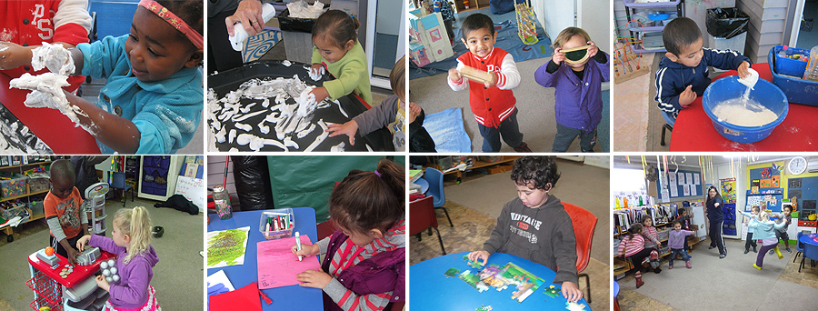 Preschool montage in Auckland