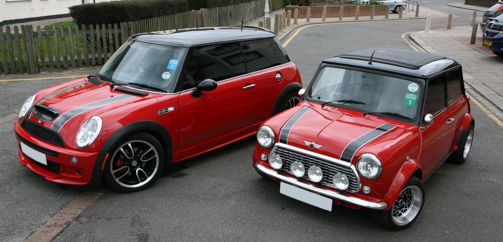 specialists in classic Minis