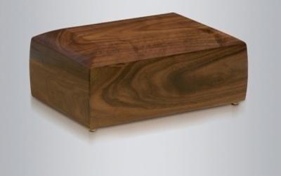 Urna in legno non verniciato