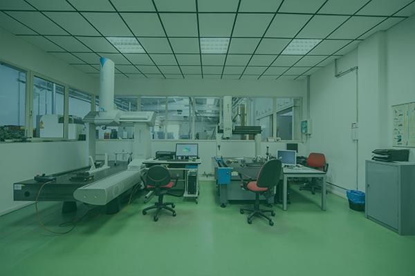 Sala metrologica uffici produzione