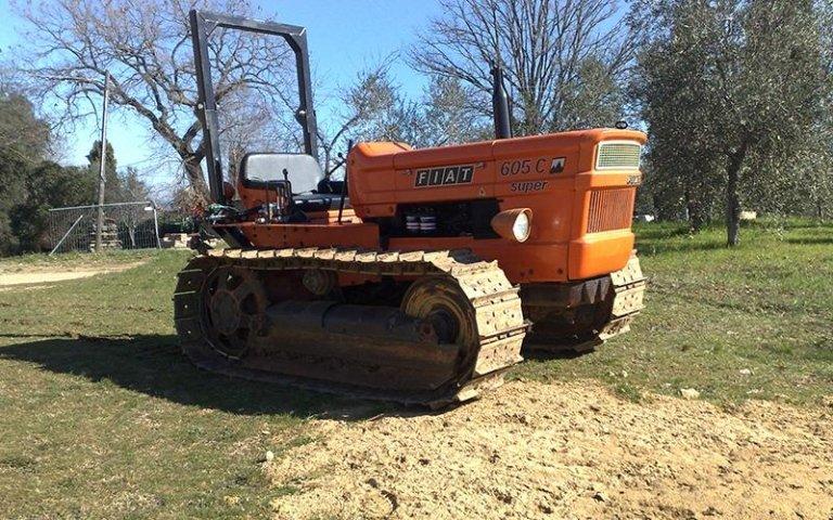 Riparazione di macchine agricole