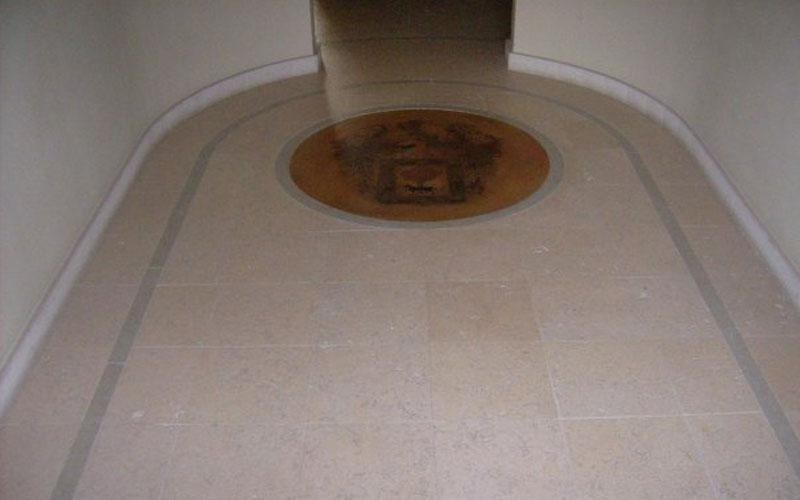 pavimento di marmo